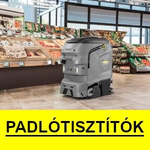 Karcher ipari padlótisztítók