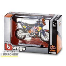 KÄRCHER Játék cross motor ( a Dakar rally KTM 450 Rally változat a Burago-tól)