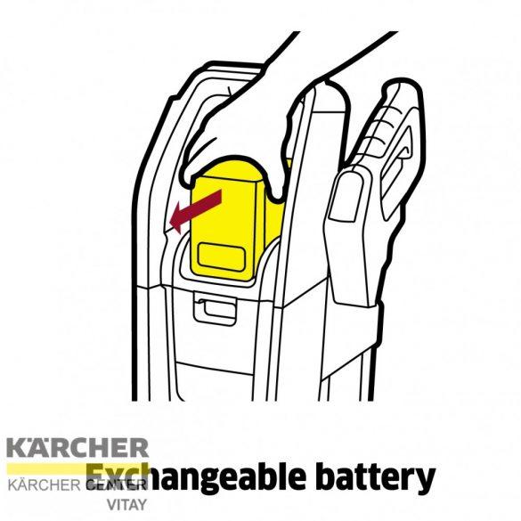 KÄRCHER K 2 akkumulátoros magasnyomású mosó (akkumulátor nélkül)