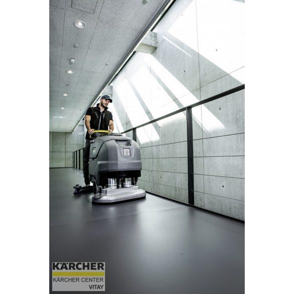 KÄRCHER BD 70/75 W Classic Bp (115 Ah)padlótisztító berendezés
