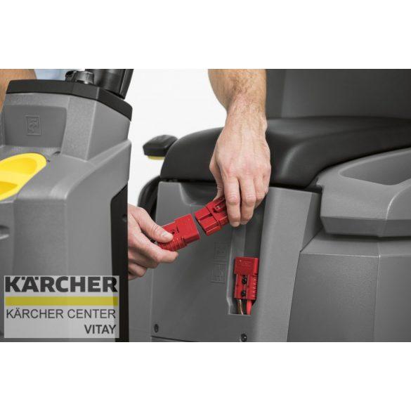 KÄRCHER BD 50/70 R Bp Pack Classic felülős padlótisztító (töltővel, akkuval, szívógerendával)