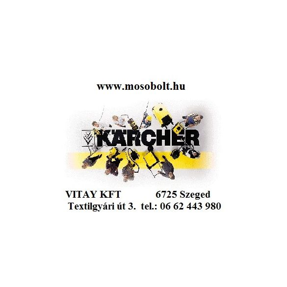 KÄRCHER HD 7/20 G hidegvizes nagynyomású mosó