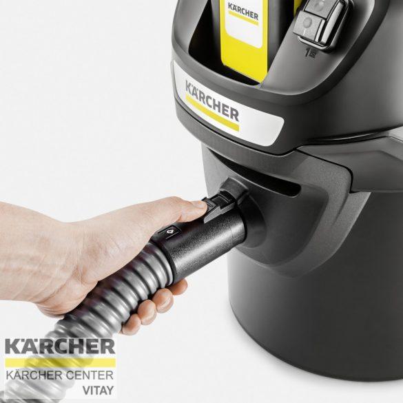 KÄRCHER AD 2 Akkumulátoros hamuporszívó (akkumulátor nélkül)