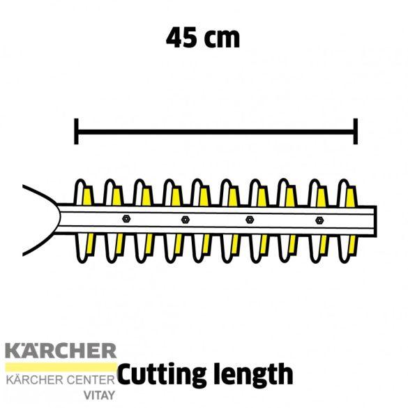 KÄRCHER HGE 18-45 Akkumulátoros sövényvágó (akkumulátor nélkül)