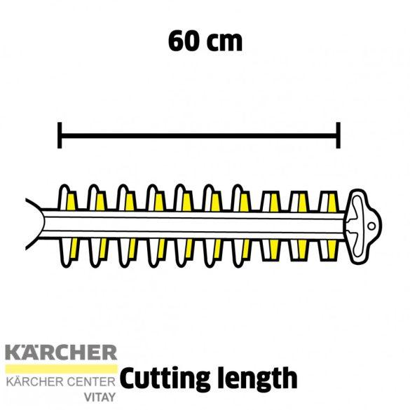 KÄRCHER HGE 36-60 Akkumulátoros sövényvágó (akkumulátor nélkül)
