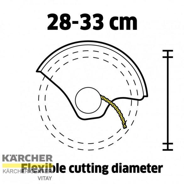 KÄRCHER LTR 36-33 Akkumulátoros szegélyvágó (akkumulátor nélkül)