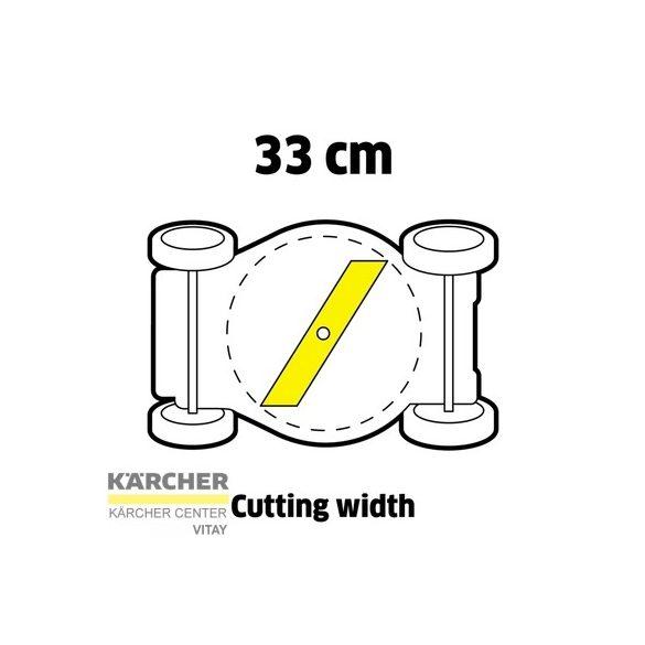 KÄRCHER LMO 18-33 Akkumulátoros fűnyíró (akkumulátor nélkül)