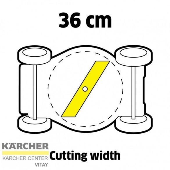 KÄRCHER LMO 18-36 Akkumulátoros fűnyíró (akkumulátor nélkül)