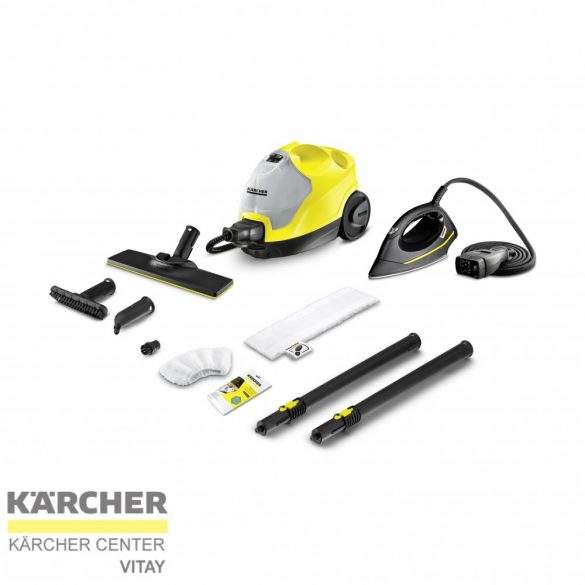 KÄRCHER SC 4 EasyFix Iron Kit gőztisztító vasaló készlettel