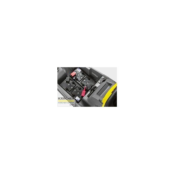 KÄRCHER BD 43/25 C Bp Pack padlótisztító berendezés (Akkuval és töltővel, szívógerendával)
