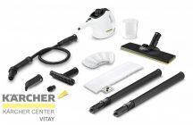 KÄRCHER SC 1 EasyFix Premium Home Line kézi gőztisztító padlótisztító készlettel