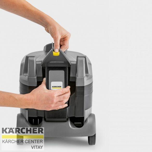 KÄRCHER T 9/1 Bp Pack akkumulátoros száraz porszívó (36 V)