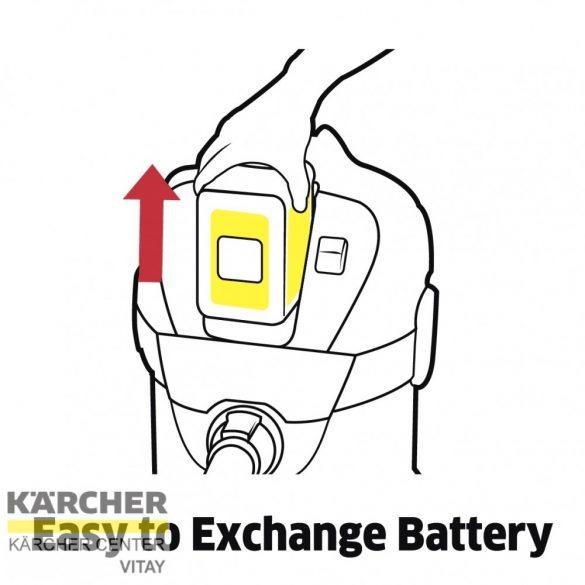 KÄRCHER WD 3 Akkumulátoros többfunkciós porszívó (akkumulátor nélkül)