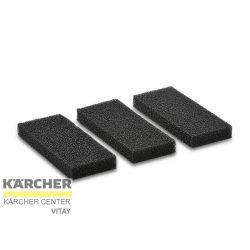 KÄRCHER Szivacsszűrő, 3 db (T 12/1; T 15/1 HEPA; BV 5/1)