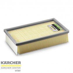 KÄRCHER Lapos-redős szűrő, M porosztály (NT 65/2)
