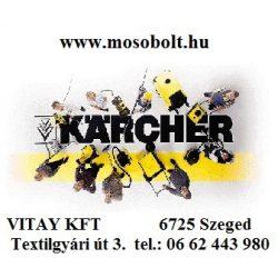 KÄRCHER Parketta tisztítófej görgőkkel, DN 32