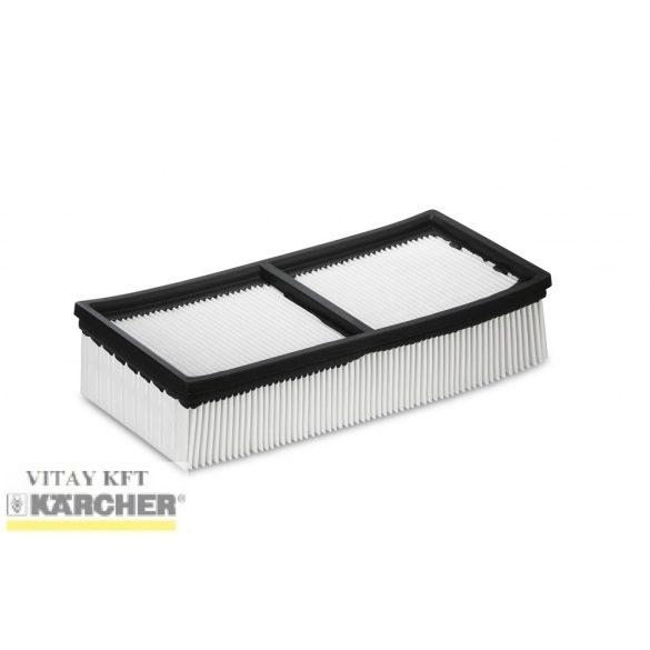 KÄRCHER Lapos-redős szűrő (PES), M porosztály (NT 65/2, NT 75/2)